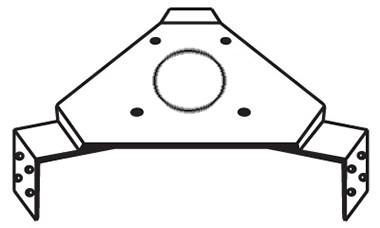 Rohn AS455G Accessory Shelf